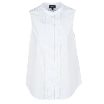 vaatteet Naiset Paitapusero / Kauluspaita Armani jeans GIKALO Valkoinen