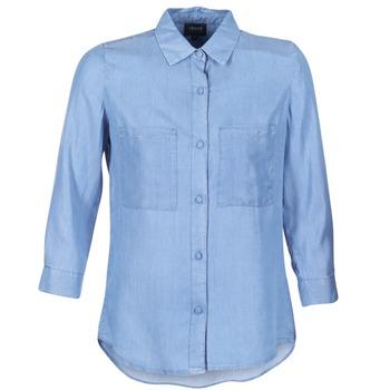 vaatteet Naiset Paitapusero / Kauluspaita Armani jeans OUSKILA Sininen