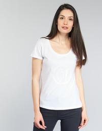 vaatteet Naiset Lyhythihainen t-paita Armani jeans LASSERO White
