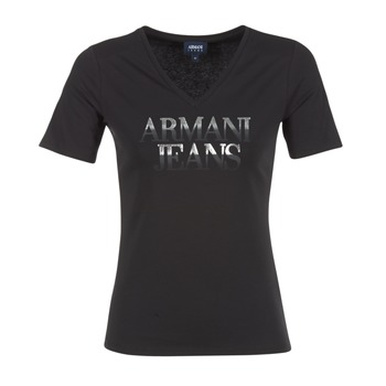 vaatteet Naiset Lyhythihainen t-paita Armani jeans JAGONA Black
