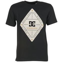 vaatteet Miehet Lyhythihainen t-paita DC Shoes LONG DAY SS Black
