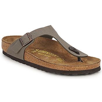kengät Naiset Varvassandaalit Birkenstock GIZEH Grey
