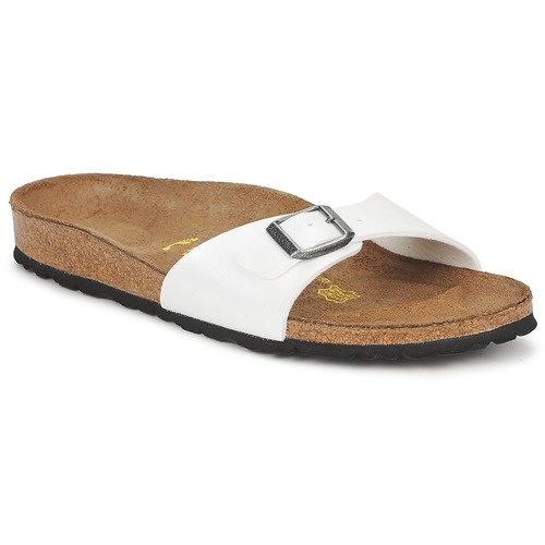 kengät Naiset Sandaalit Birkenstock MADRID White
