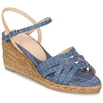 kengät Naiset Sandaalit ja avokkaat Castaner BETSY Sininen / Beige