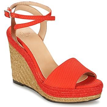 kengät Naiset Sandaalit ja avokkaat Castaner ADELA Red