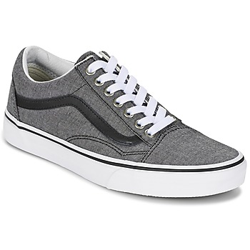 kengät Matalavartiset tennarit Vans OLD SKOOL Grey / Black
