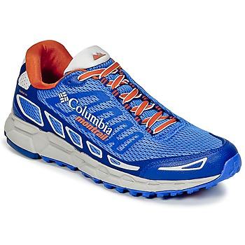 kengät Miehet Juoksukengät / Trail-kengät Columbia BAJADA™ III Blue / Orange