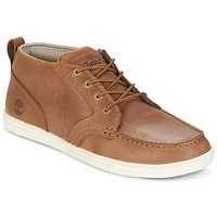 kengät Miehet Matalavartiset tennarit Timberland FULK LP CHUKKA MT LEATHER Brown