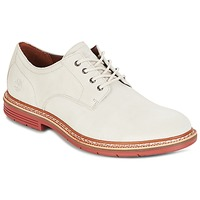 kengät Miehet Derby-kengät Timberland NAPLES TRAIL OXFORD White