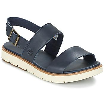 kengät Naiset Sandaalit ja avokkaat Timberland BAILEY PARK SLINGBACK Laivastonsininen