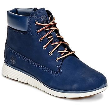kengät Lapset Bootsit Timberland KILLINGTON 6 IN Blue