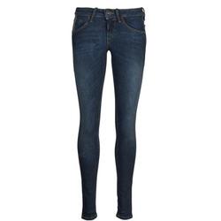vaatteet Naiset Slim-farkut Fornarina EVA 78 Blue