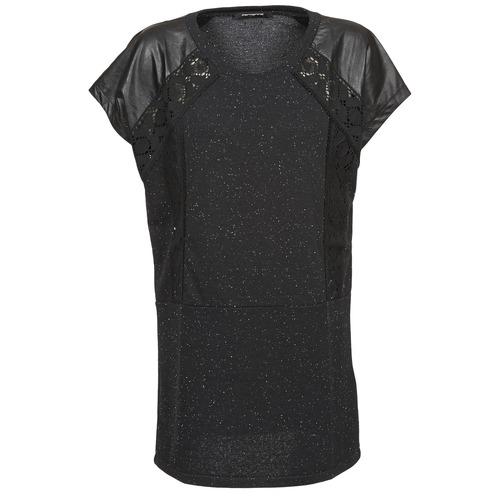 vaatteet Naiset Lyhythihainen t-paita Fornarina DALHIA Black