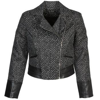 vaatteet Naiset Pusakka Fornarina SELINE Grey / Black
