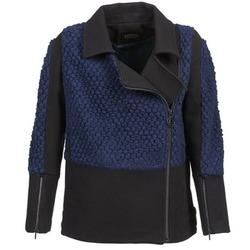 vaatteet Naiset Pusakka Eleven Paris FLEITZ Black / Blue