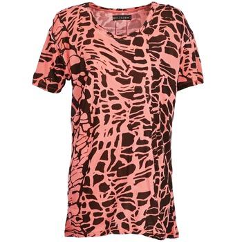 vaatteet Naiset Lyhythihainen t-paita Religion HAWK Red / Black