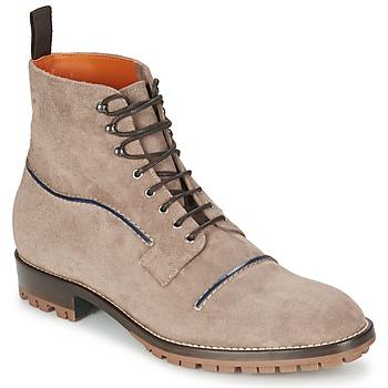 kengät Miehet Bootsit Etro E174 Taupe