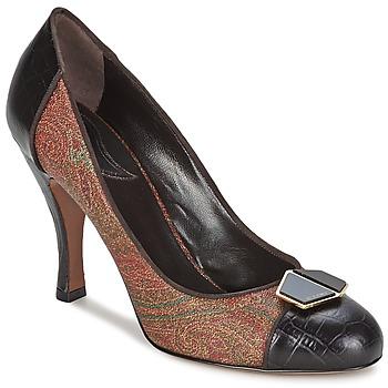 kengät Naiset Korkokengät Etro 3074 Brown