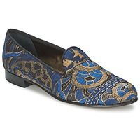 kengät Naiset Mokkasiinit Etro 3046 Black / Blue