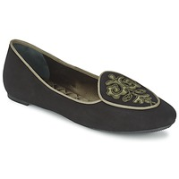 kengät Naiset Balleriinat Etro 3059 Black / Kaki