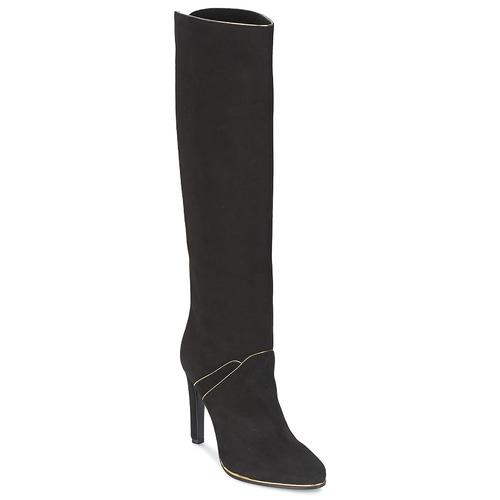 kengät Naiset Saappaat Etro 3119 Black / Kulta