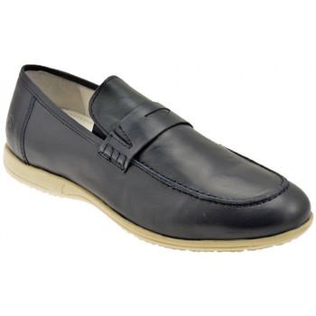 kengät Miehet Mokkasiinit Lumberjack  Sininen