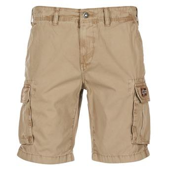 vaatteet Miehet Shortsit / Bermuda-shortsit Napapijri NON BEIGE