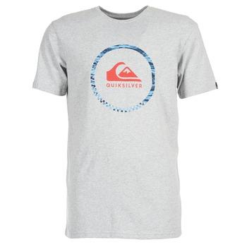 vaatteet Miehet Lyhythihainen t-paita Quiksilver ACTIVELOGO 3 Grey