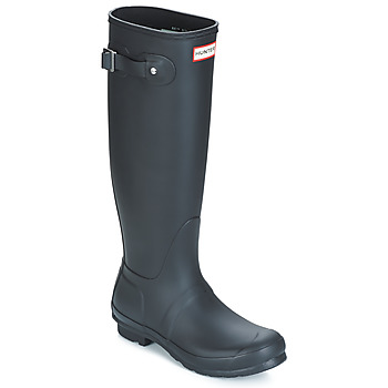 kengät Naiset Kumisaappaat Hunter WOMEN'S ORIGINAL TALL Black