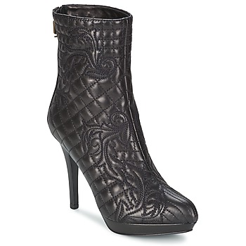 kengät Naiset Nilkkurit Versace MARGHERITA Black