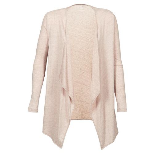 vaatteet Naiset Neuleet / Villatakit Majestic 518 Beige