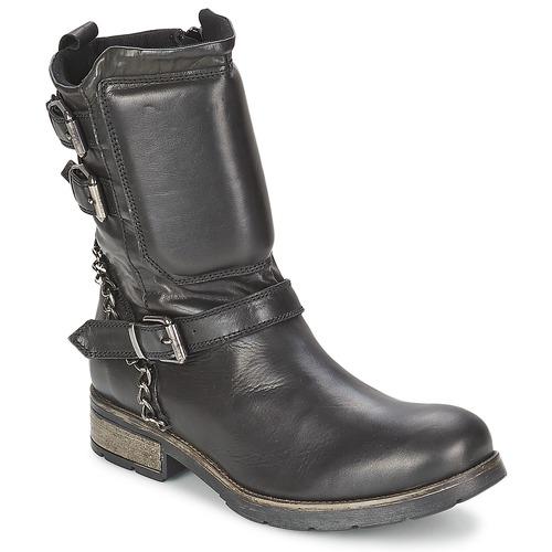 kengät Naiset Bootsit Casual Attitude SERIS Black