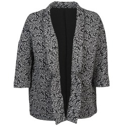 vaatteet Naiset Takit / Bleiserit Sisley FRANDA Musta / Harmaa