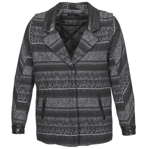 vaatteet Naiset Paksu takki Color Block ALTONA Black