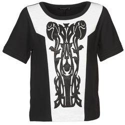 vaatteet Naiset Topit / Puserot Color Block LANETT Musta