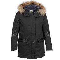 vaatteet Naiset Parkatakki LTB FERTOR Black