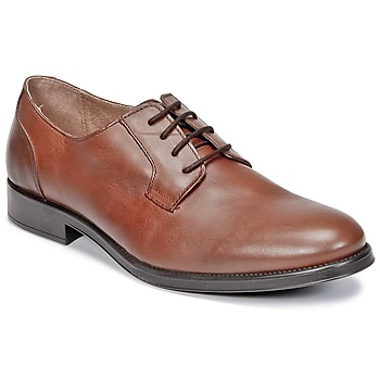 kengät Miehet Derby-kengät Selected OLIVER COGNAC