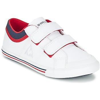 kengät Pojat Matalavartiset tennarit Le Coq Sportif SAINT GAETAN PS CVS White / Red