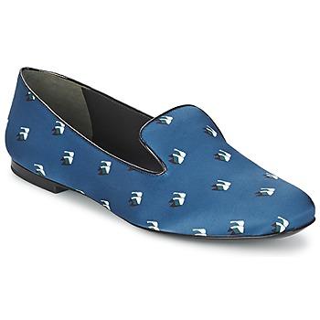 kengät Naiset Balleriinat Kenzo 2SL110 Blue / Laivastonsininen