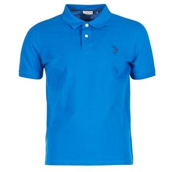 vaatteet Miehet Lyhythihainen poolopaita U.S Polo Assn. INSTITUTIONAL Blue
