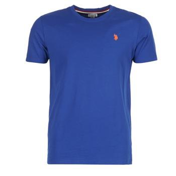 vaatteet Miehet Lyhythihainen t-paita U.S Polo Assn. DBL HORSE Blue