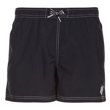 vaatteet Miehet Uima-asut / Uimashortsit U.S Polo Assn. USPA SWIM TRUNK MED Black