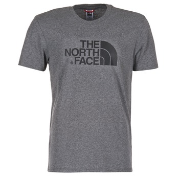 vaatteet Miehet Lyhythihainen t-paita The North Face EASY TEE Grey