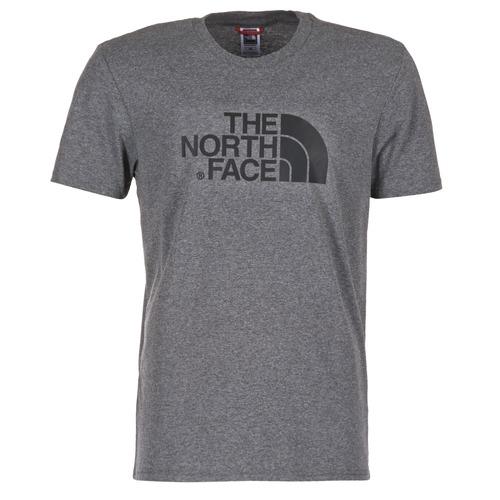 vaatteet Miehet Lyhythihainen t-paita The North Face EASY TEE Harmaa