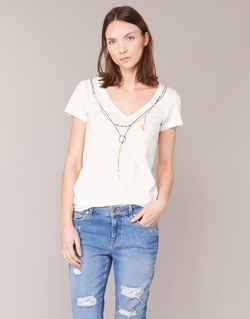 vaatteet Naiset Lyhythihainen t-paita Oxbow TWIN White