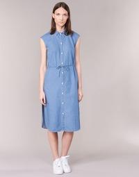 vaatteet Naiset Pitkä mekko Loreak Mendian BAT ARKANSAS Blue