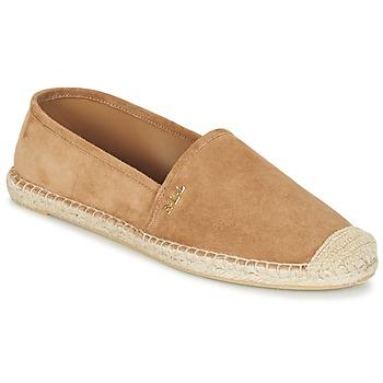 kengät Naiset Espadrillot Ralph Lauren DANITA ESPADRILLES CASUAL CAMEL
