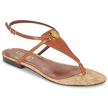 kengät Naiset Sandaalit ja avokkaat Ralph Lauren ANITA SANDALS CASUAL Brown