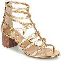 kengät Naiset Sandaalit ja avokkaat Ralph Lauren MADGE SANDALS DRESS Gold