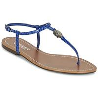 kengät Naiset Varvassandaalit Ralph Lauren AIMON SANDALS CASUAL Blue